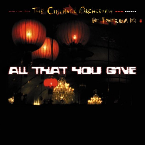 All That You Give -