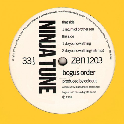 Return of Brother Zen - Bogus Order