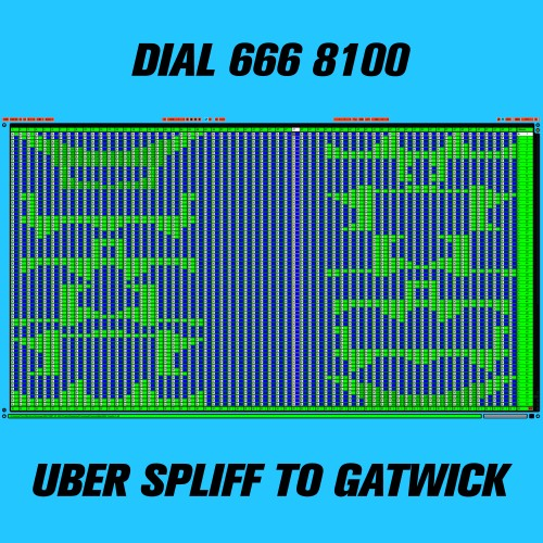 UBER SPLIFF TO GATWICK - DIAL 666 8100